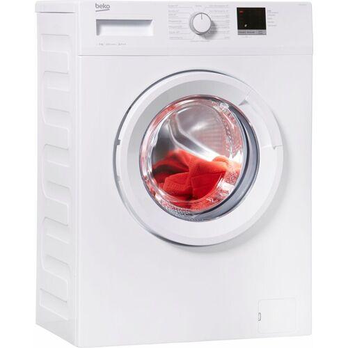 Beko Waschmaschine WML 61023 N, 6 kg, 1000 U/Min, Energieeffizienzklasse A+++