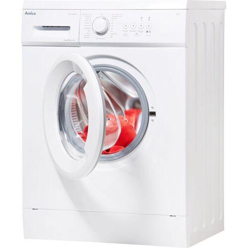 Amica Waschmaschine Slim Line WA 14680 W, 6 kg, 1000 U/Min, Unterbaufähig, inklusive Unterbaublech, Energieeffizienzklasse A+