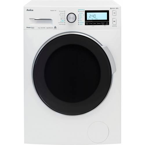 Amica Waschmaschine WA 484 111 W, 8 kg, 1400 U/Min, Energieeffizienzklasse A+++