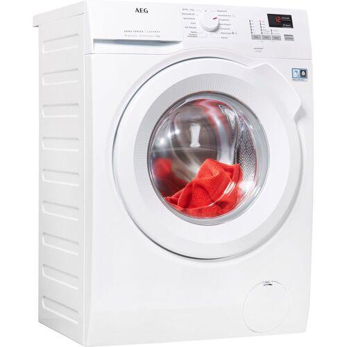 AEG Waschmaschine L6FBA484, 8 kg, 1400 U/min, ProSense - Intelligente Beladungserkennung, Energieeffizienzklasse E