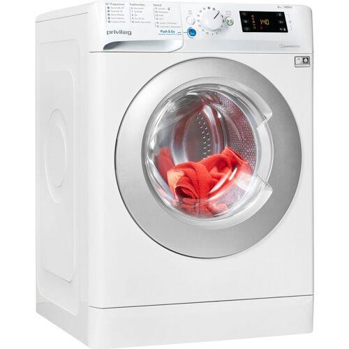 Privileg Waschmaschine PWF X 843 N, 8 kg, 1400 U/min, Energieeffizienzklasse C