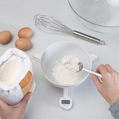 JosephJoseph Küchenwaage »faltbare digitale Waage TriScale, weiß«