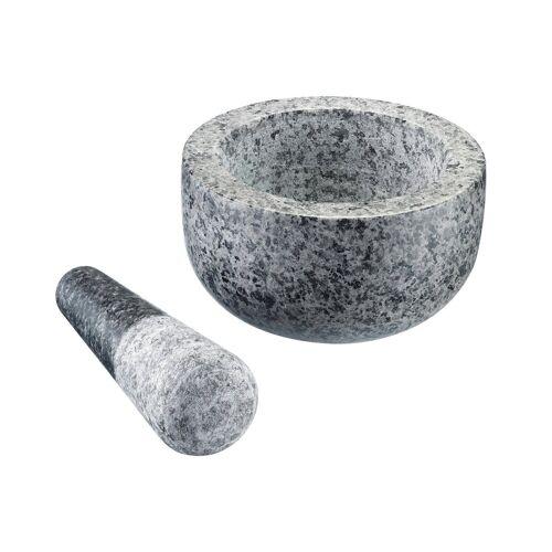 WESTMARK Mörser, (Set, 2-tlg), Natur-Granit