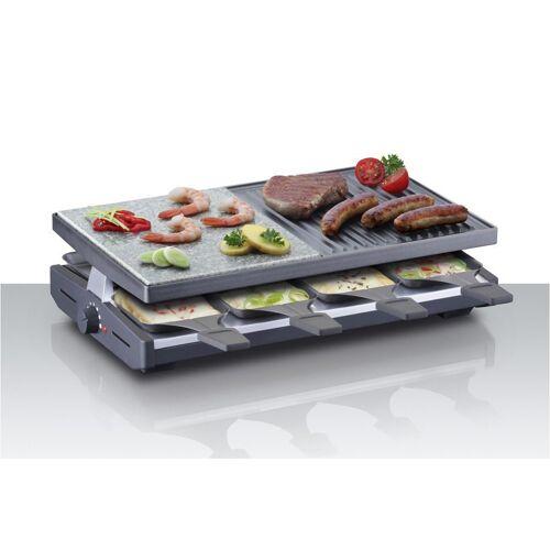 Steba Raclette RC 58, 8 Raclettepfännchen, 1200 W