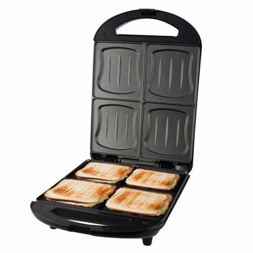 Emerio Sandwichmaker ST-111153 XXL-Sandwich-Toaster für 4 Scheiben Toast, 1300 W