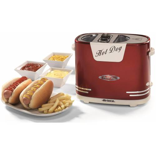 Ariete Hotdog-Maker 186 Party Time, 650 W