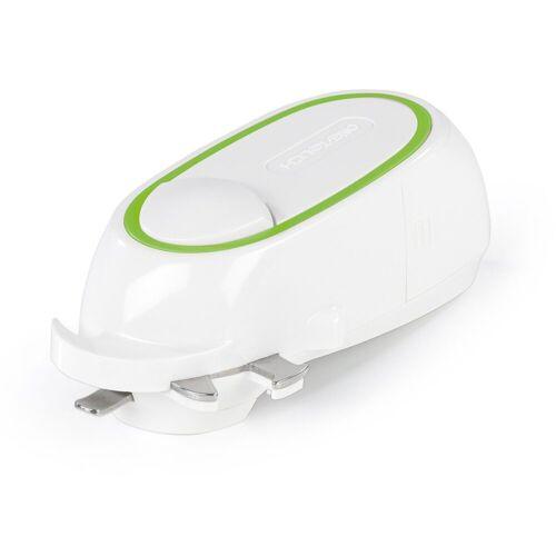 GOURMETmaxx Elektrischer Dosenöffner, One Touch in weiß/green