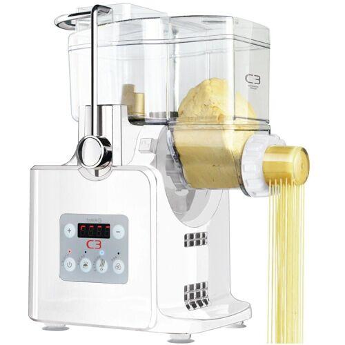 C3 Nudelmaschine, Basta Pasta Nudelmaschine vollautomatisch Maschine Pastamaker Nudeln, weiss