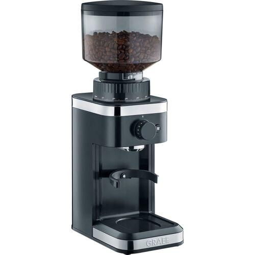 Graef Kaffeemühle CM 502, schwarz, 135 W, Kegelmahlwerk