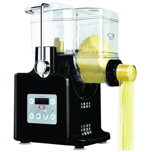 C3 Nudelmaschine, Basta Pasta Nudelmaschine vollautomatisch Maschine Pastamaker Nudeln, schwarz