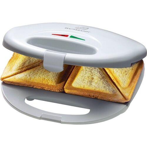 BOMANN Sandwichmaker ST 5016 CB Sandwichtoaster weiß