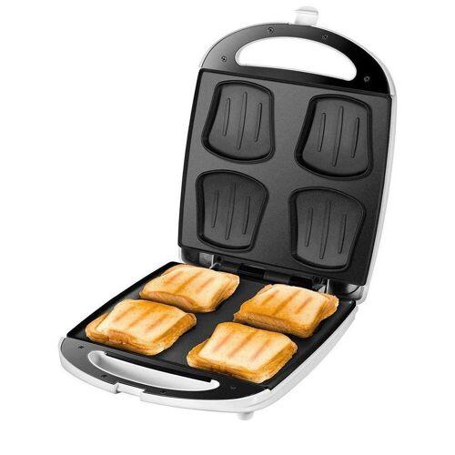 Unold Sandwichmaker 48480 SandwichToaster Quadro