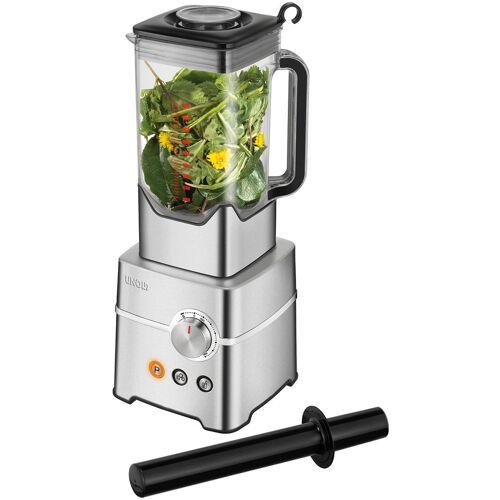 Unold Smoothie-Maker Power, 2000 W, 2.000 Watt, stufenlos, edelstahlfarben-schwarz