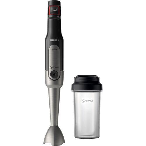Philips Stabmixer HR2650/90 Viva, SpeedTouch, inkl. 2-in-1 Togo Trinkflasche & Mixbecher, 800 W