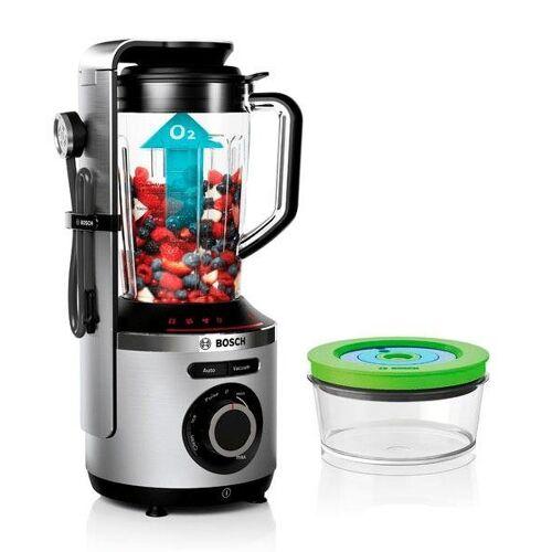 Bosch Standmixer VitaMaxx MMBV622M, 1000 W, Vakuum-Mixer, inkl. 3 Automatikprogrammen, Vakuum-Frischhaltedose und Rezeptbuch