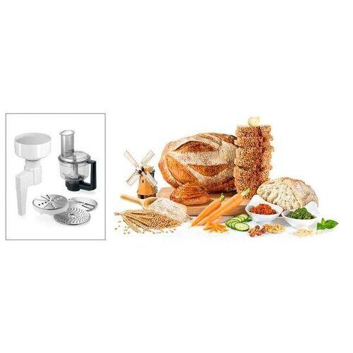 Bosch Getreidemühlenaufsatz MUZXLVE1, Zubehör für Küchenmaschinen MUMXL/XX und MUM8