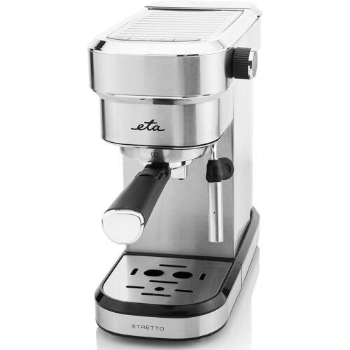 eta Espressomaschine STRETTO 21890000, Slim-Design, Leistungsaufnahme 1350 W, Wassertank 750 ml und Pumpendruck bis zu 15 Bar