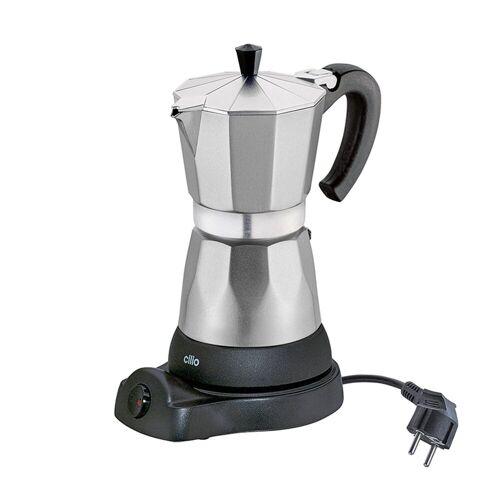 Cilio Espressokocher Elektrischer Espressokocher CLASSICO, Silber