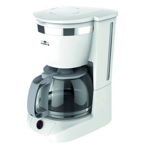 Lentz Filterkaffeemaschine Kaffeemaschine Kaffeemaschine, Weiß
