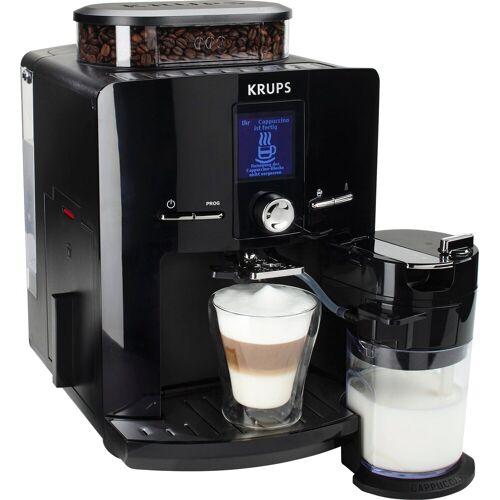 Krups Kaffeevollautomat EA8298 Latt´Espress, mit Kegelmahlwerk