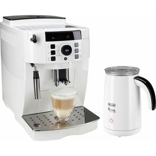 DeLonghi Kaffeevollautomat ECAM 21.118.W, inkl. Milchaufschäumer im Wert von UVP 89,99