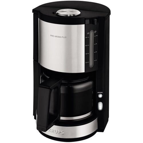 Krups Filterkaffeemaschine ProAroma Plus KM321, 1,25l Kaffeekanne, Papierfilter 1x4, mit Aromaschalter