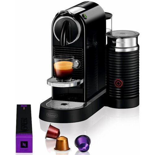 Nespresso Kapselmaschine CITIZ EN 267.BAE, mit Aeroccino Milchaufschäumer