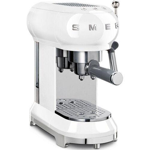 SMEG Espressomaschine ECF01WHEU