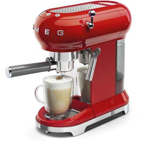 SMEG Espressomaschine ECF01RDEU