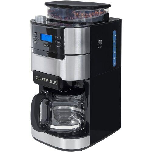 Gutfels Kaffeemaschine mit Mahlwerk KA 8102 swi, 1,5l Kaffeekanne, Permanentfilter 1x4