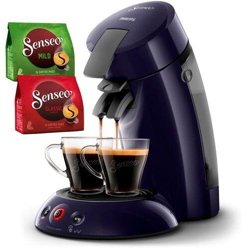 Senseo Kaffeepadmaschine HD6554/40 New Original, inkl. Gratis-Zugaben im Wert von 5,- UVP