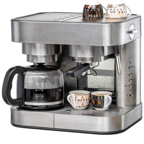 Rommelsbacher Siebträger-/Filterkaffeemaschine EKS 3010, 1,25l Kaffeekanne, Papierfilter 1x4