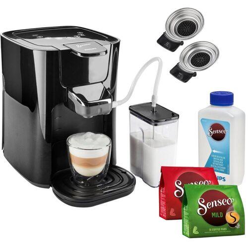 Senseo Kaffeepadmaschine HD6570/60 Latte Duo, inkl. Gratis-Zugaben im Wert von 14,- UVP