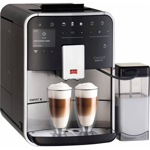 Melitta Kaffeevollautomat Barista T Smart F 84/0-100, Edelstahl