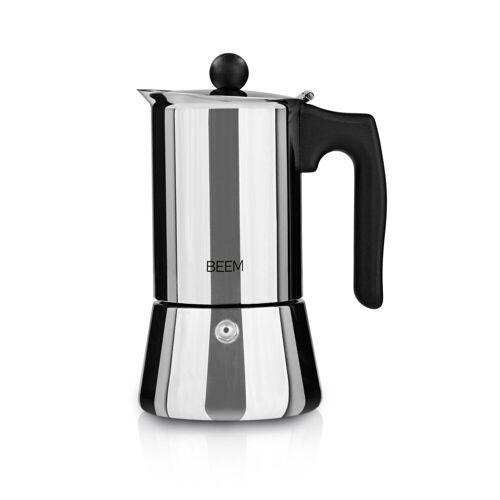 BEEM ESPRESSOMAKER Espressokocher 4 Tassen Induktion