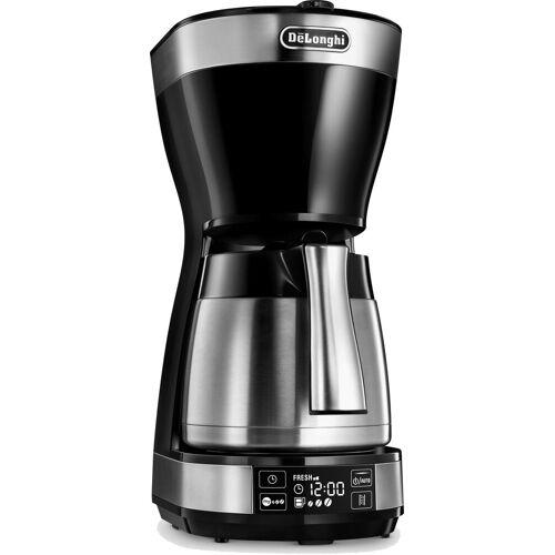 DeLonghi Filterkaffeemaschine ICM 16731, 1,25l Kaffeekanne, Papierfilter