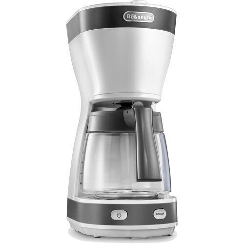 DeLonghi Filterkaffeemaschine ICM 16210.WS, 1,25l Kaffeekanne, Papierfilter