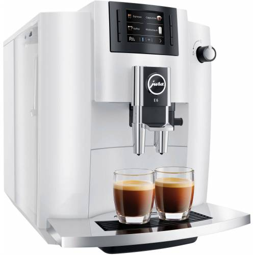 Jura Kaffeevollautomat E6, weiß