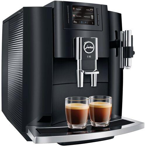 Jura Kaffeevollautomat E80, schwarz