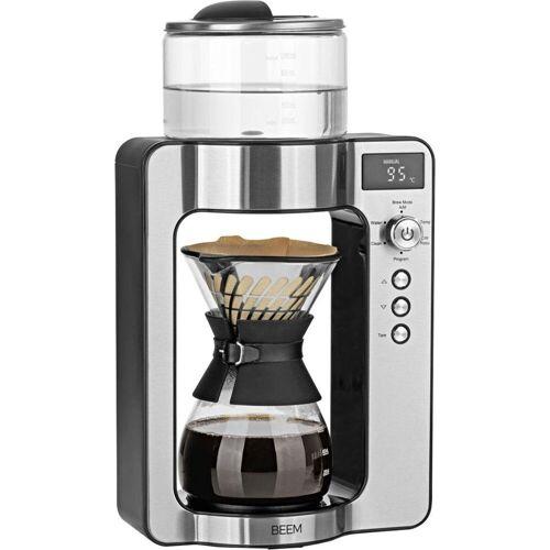 BEEM Filterkaffeemaschine Pour Over mit Kaffeewaage - Glas, 0,75l Kaffeekanne, Papierfilter 1x2