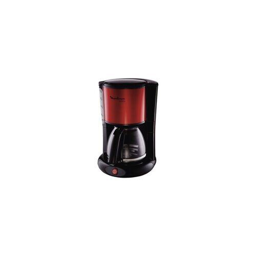 Moulinex Filterkaffeemaschine FG360D schwarz/rot