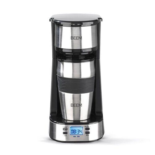BEEM Filterkaffeemaschine, Thermo 2 Go Single Filterkaffeemaschine