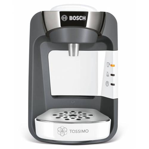 Bosch Kapselmaschine, TASSIMO SUNY + 20 EUR Gutscheine* Heißgetränkemaschine Kaffeemaschine weiß