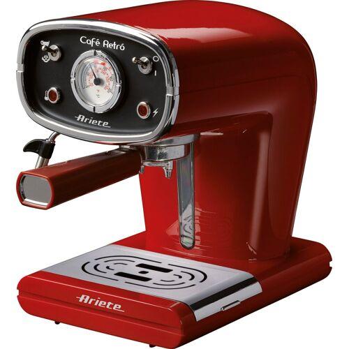 Ariete Siebträgermaschine 1388R Retro rot