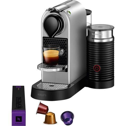 Nespresso Kapselmaschine XN761B New CitiZ & milk, mit Aeroccino Milchaufschäumer