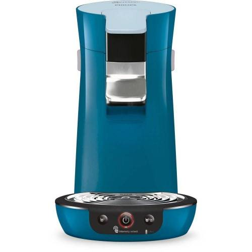 Philips Kaffeepadmaschine Senseo HD6563/70 Viva Cafe Kaffeepadmaschine blau Abschaltfunktion 1450 Watt