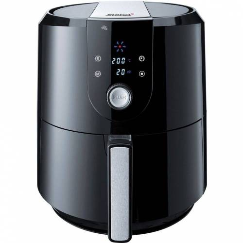 Steba Heissluftfritteuse HF 5000 XL Heißluftfritteuse 5,2 Liter sw