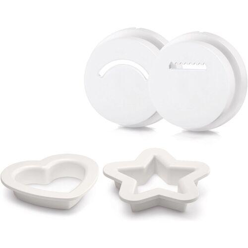 Philips Keks-Formscheiben HR2455/09, Zubehör für Pastamaker HR2355/12