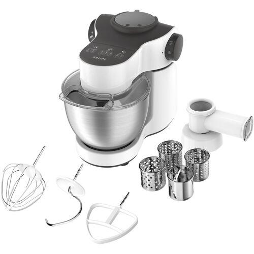Krups Küchenmaschine KA3121 Master Perfect, 1000 W, 4 l Schüssel, mit umfangreichem Zubehör, 7 Geschwindigkeiten