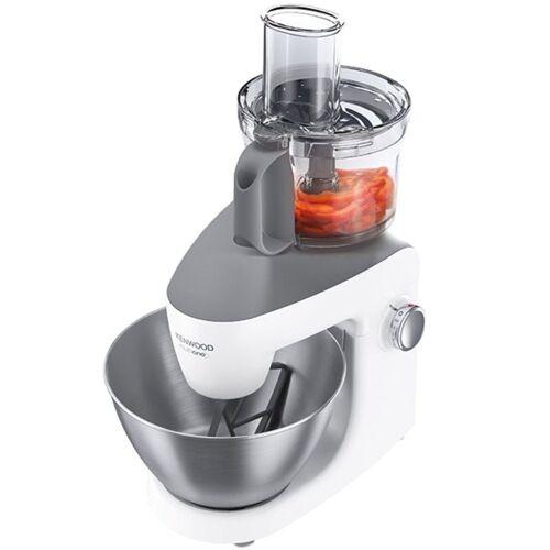 Kenwood Küchenmaschine KHH 326 MultiOne Weiss-Grau Küchenmaschine 1.000 W Spritzschutz